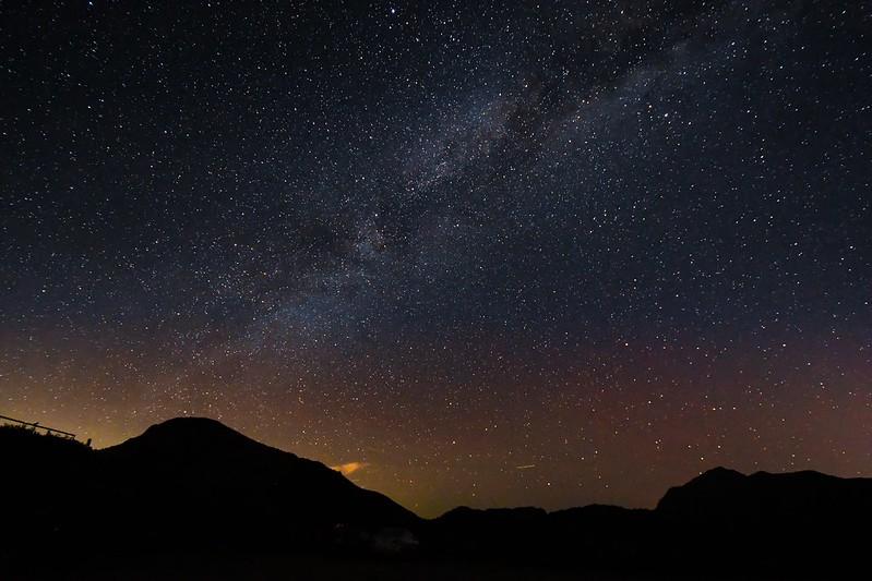 經多年努力,合歡山獲得國際暗天協會認證,成為台灣第一座國際暗空公園