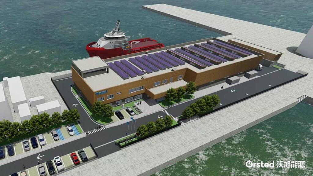 沃旭與台中港簽20年租約 後年起作離岸風場維運中心_空壓機